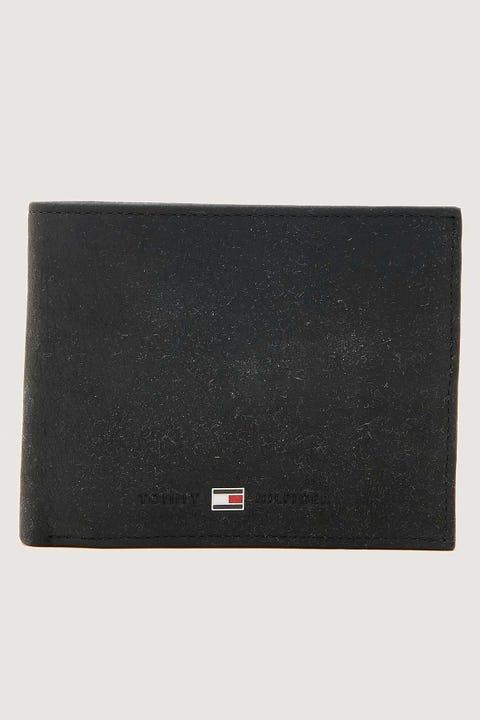 TOMMY JEANS Johnson CC Flap & Coin Pocket Wallet Black