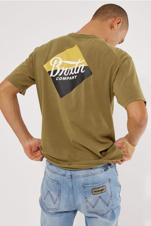Brixton Covet Tee Military Olive