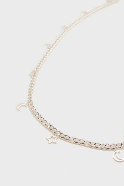 Token Constellation Chain Belt Silver
