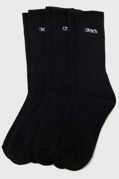 Common Need Pilot Sock 3 Pack Black