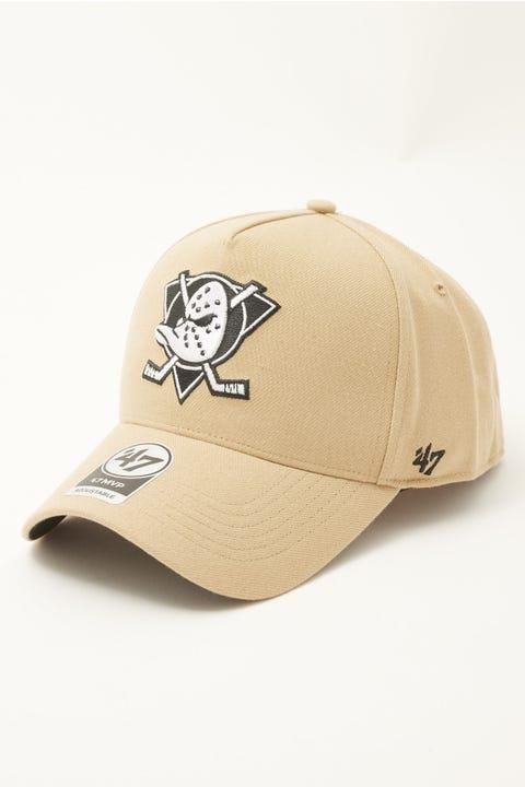 47 Brand MVP DT Anaheim Ducks Snapback Khaki
