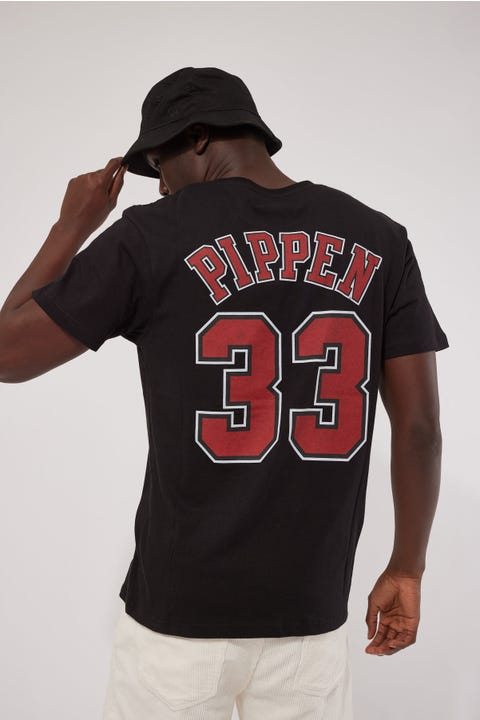 Mitchell & Ness Pippen Legends N&N Tee Black