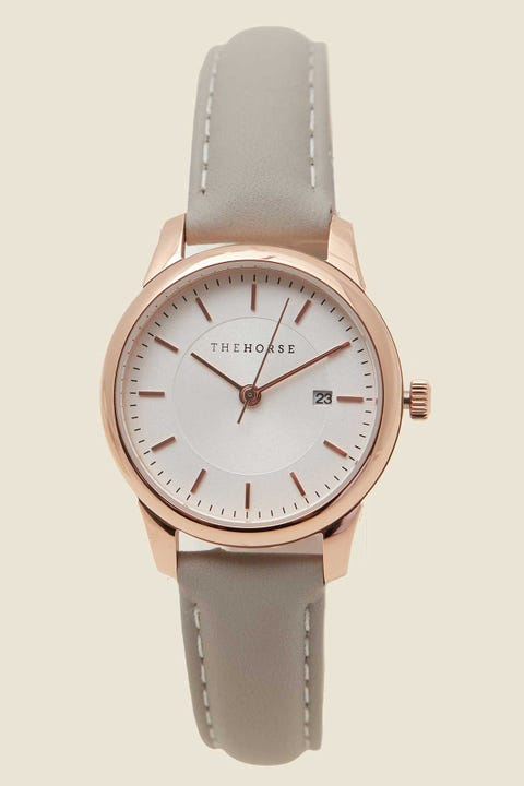 THE HORSE Ivy Girl Rose Gold/White/Lt Gry