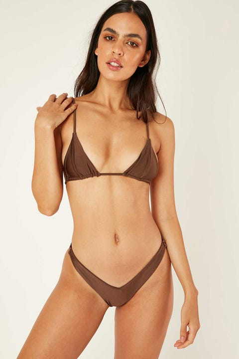 Lioness The Delilah Bikini Set Brown