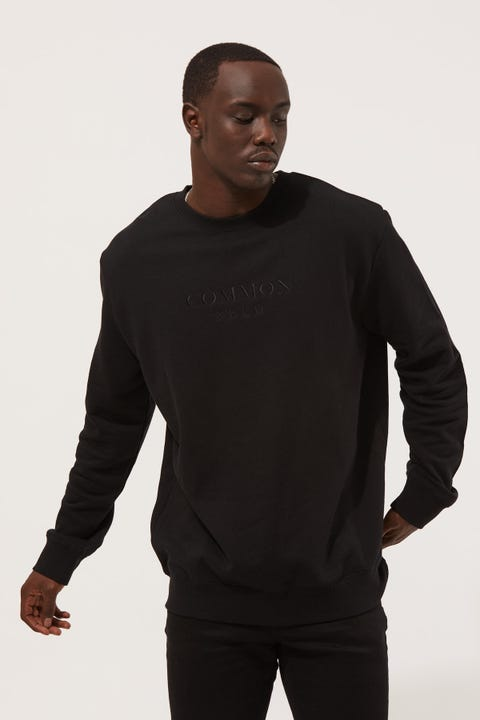 Common Need Onyx Clean Crew Black