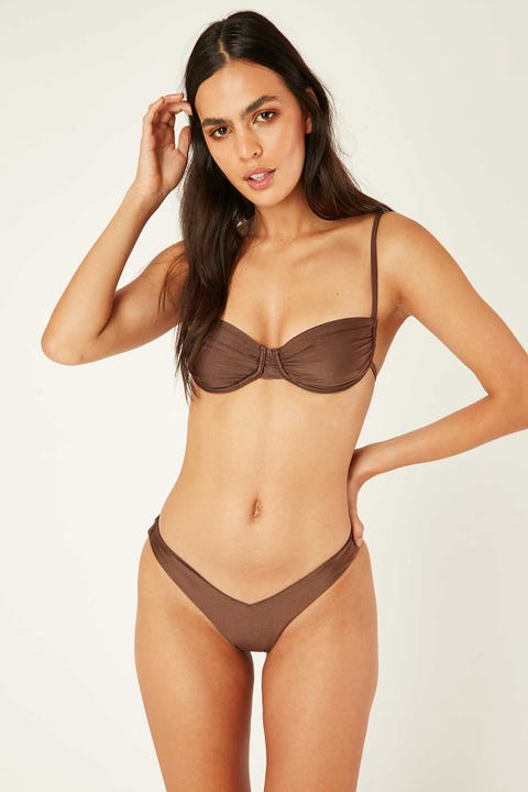 Lioness The Pia Bikini Set Brown