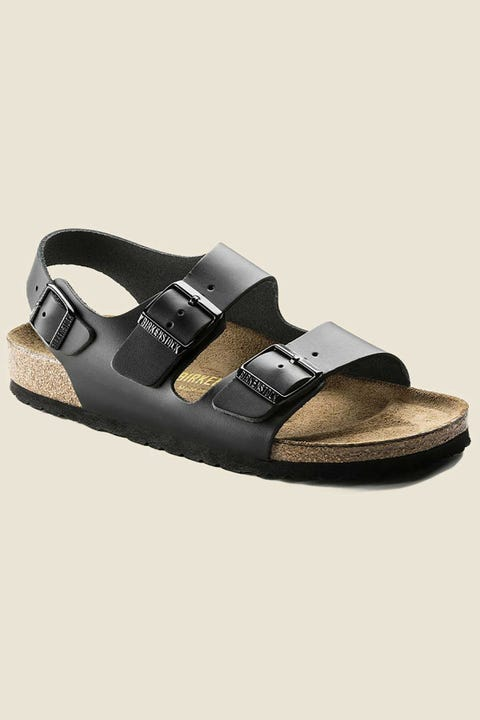 BIRKENSTOCK Womens Milano SL Regular Black