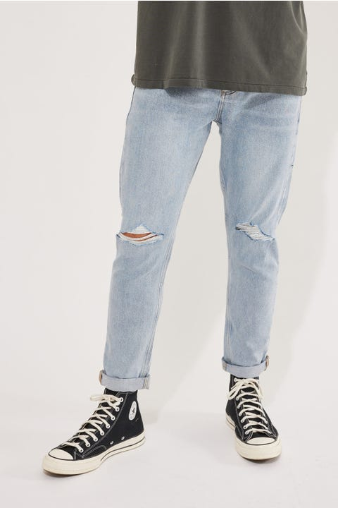 Thrills Buzzcut Denim Jean Timeless Blue