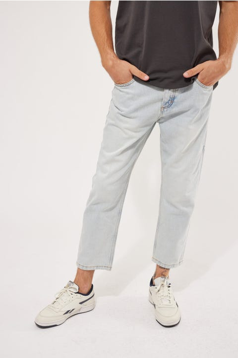 Thrills Chopped Denim Jean Light Blue Fade