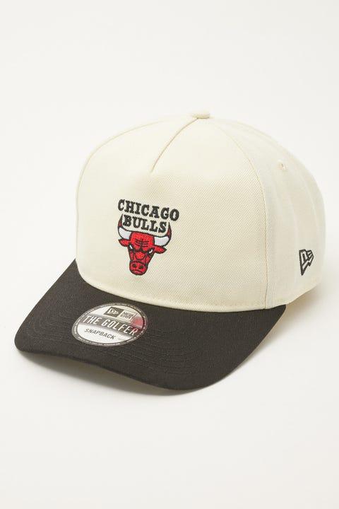 New Era Golfer Chicago Bulls Classic 2Tone Off White/Black