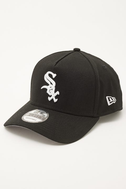 New Era 9Forty A-Frame World Series Chicago White Sox Black