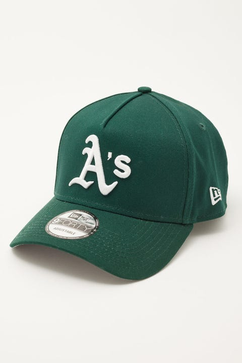 New Era 9Forty A-Frame World Series Oakland Athletics Dark Green