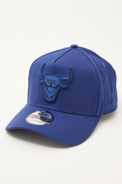 New Era 9Forty A-Frame Chicago Bulls Dark Blue