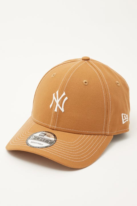 New Era 9Forty NY Yankees Contrast Light Bronze