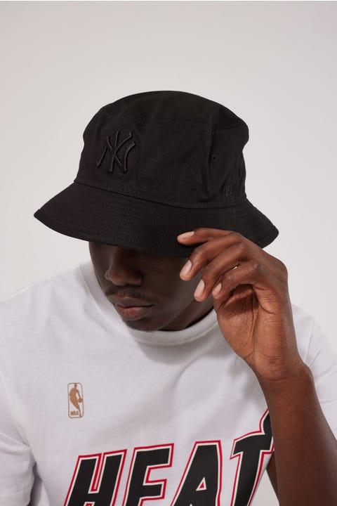 New Era Bucket NY Yankees Black/Black