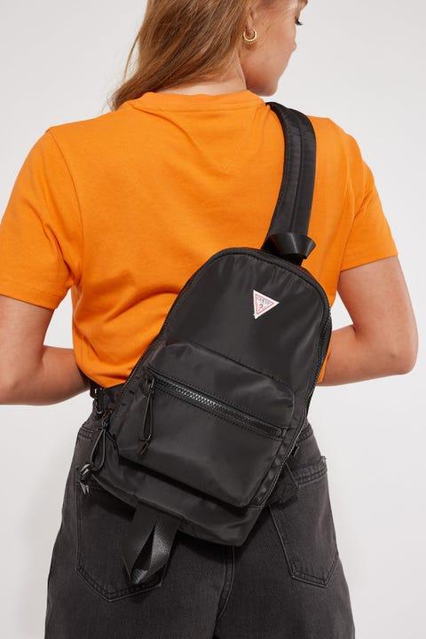 Guess Originals Sling Backpack Black