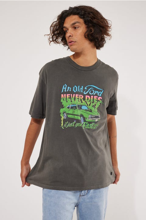 Rolla's Ford Never Die Tee Washed Black
