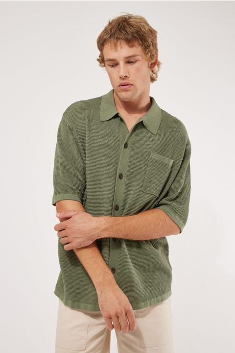 Common Need Party Cardi Sage Green