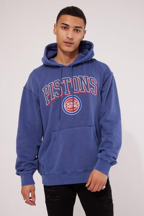 Mitchell & Ness Detroit Pistons Vintage Keyline Logo Hoody Royal