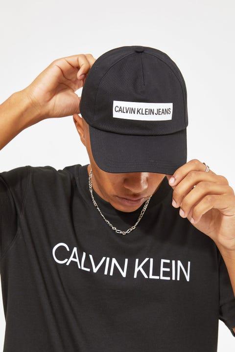 Calvin Klein Cap Institutional Black