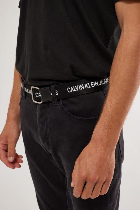 Calvin Klein Slider Webbing Belt Black