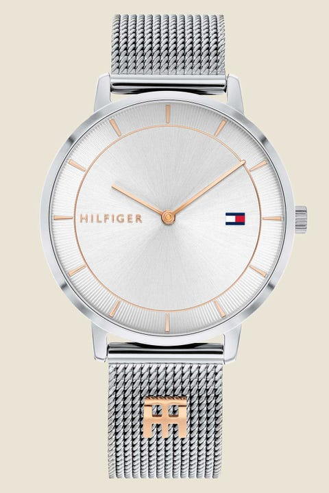 Tommy Jeans Tea White Dial/Stainless Steel