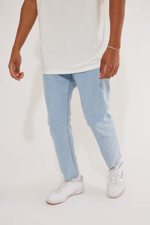 Abrand A Chopped Straight Jean Lightning Blue