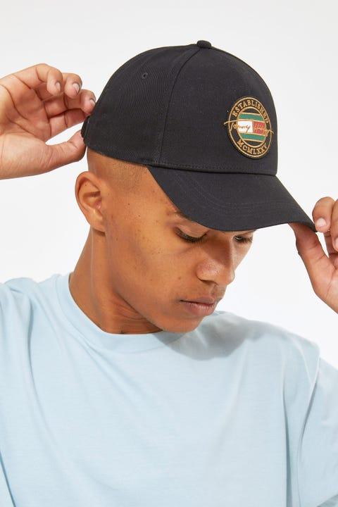 Tommy Jeans Signature Patch Cap Black