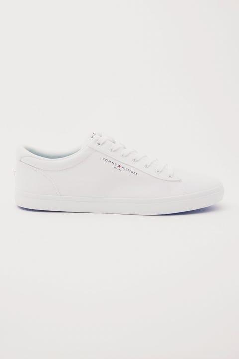 Tommy Jeans Essential Stripes Textile Vulc White
