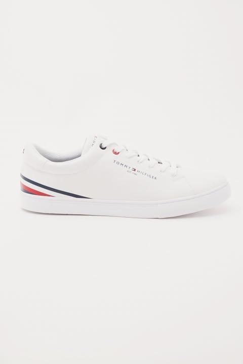 Tommy Jeans Stripe Sneaker White