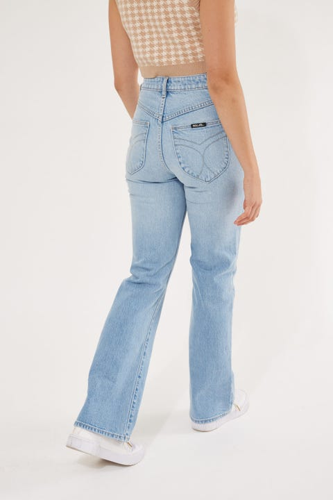 Rolla's Dusters Bootcut Sunshine Blue