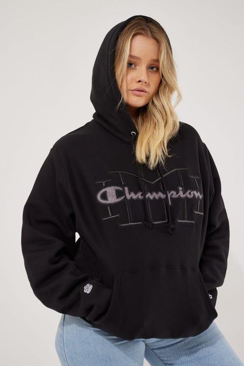 Champion Homie Reverse Weave Hoodie Black