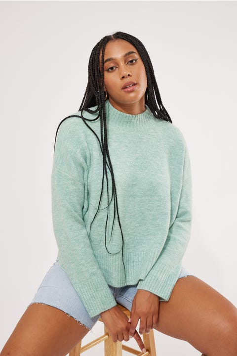 Perfect Stranger Nikita Knit Teal