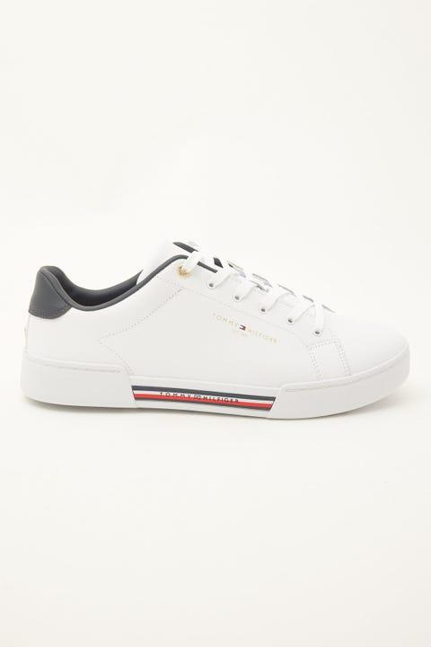 Tommy Jeans TH Stripe Insert Sneaker White
