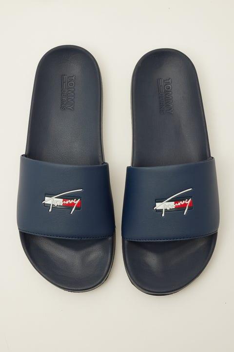 Tommy Jeans Essential Pool Slide Twilight Navy