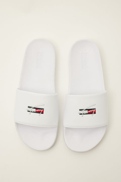Tommy Jeans Essential Pool Slide White