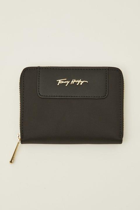 Tommy Jeans Fresh Medium Zip Around Black