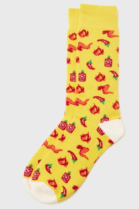Common Need Spicy Sock Yellow