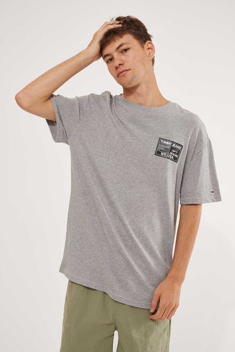 Tommy Jeans TJM Black Label Tee LT Grey Heather
