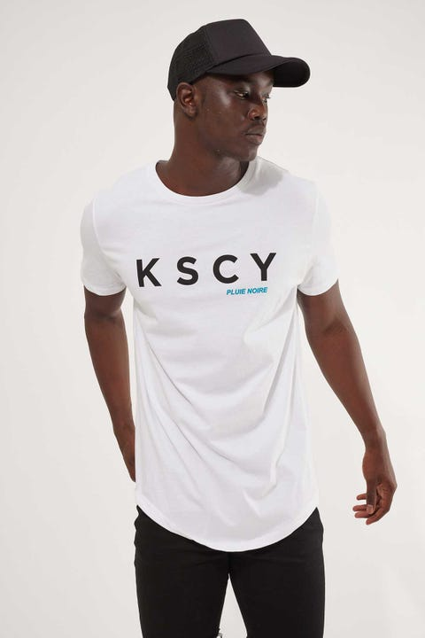 Kiss Chacey The Crash Dual Curved Tee White