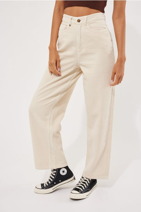 Thrills Billie Cord Pant Heritage White