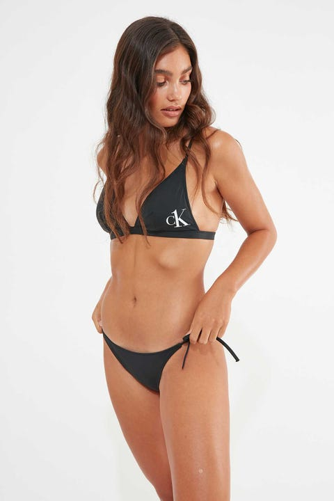 CALVIN KLEIN CK One Triangle Bikini Top Black