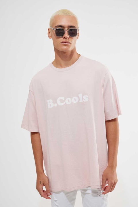 Barney Cools B Cools Retro Tee Dusty Pink