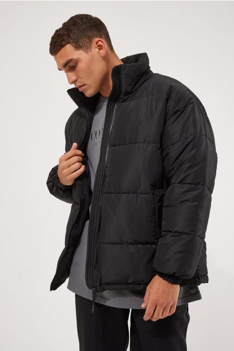 Common Need Antarctica Puffer Jacket Black