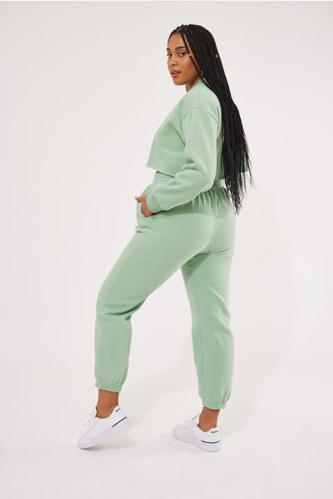 Luck & Trouble Relaxed Trackpant Mint