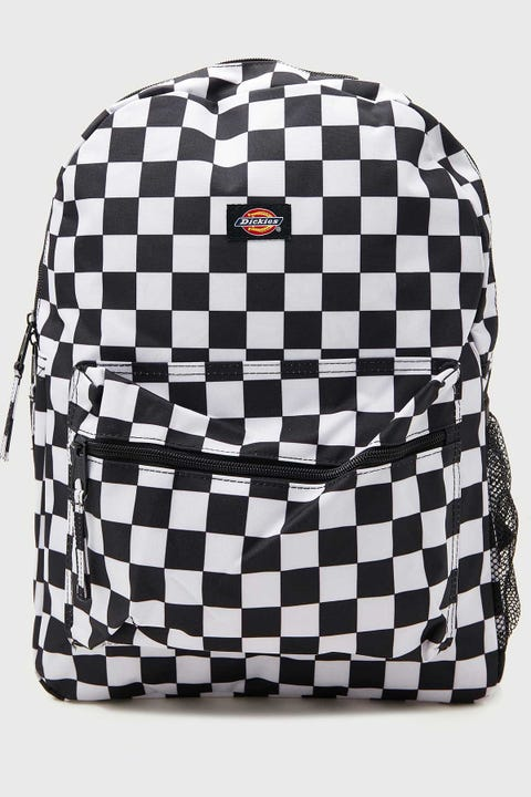 Dickies Student Backpack Black & White Checker