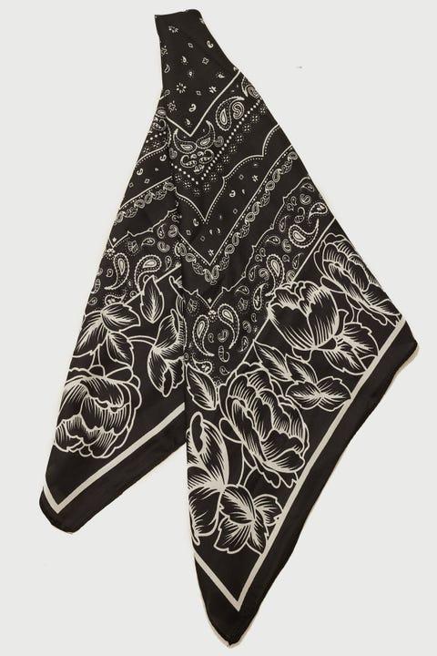 Neovision Paisley Bandana Black Print