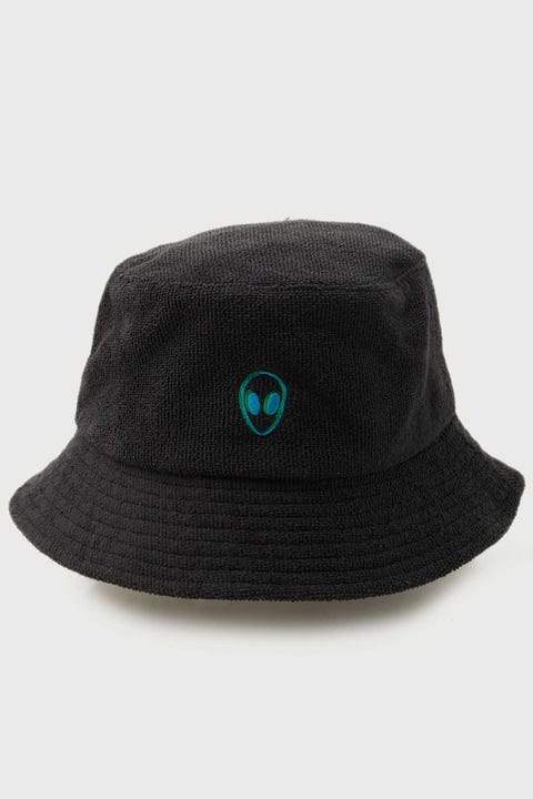 Neovision Outerspace Terry Bucket Hat Black