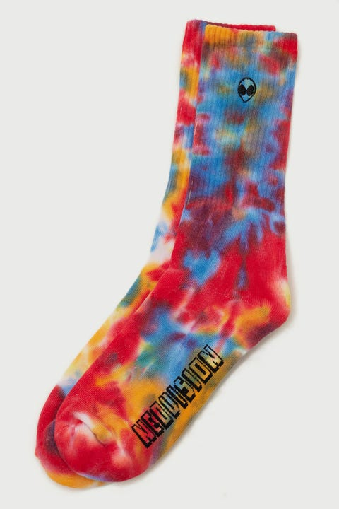 Neovision Outerspace Tie Dye Sock Sunset