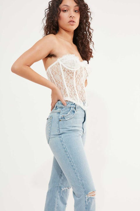 Lioness The Plaza Bustier White